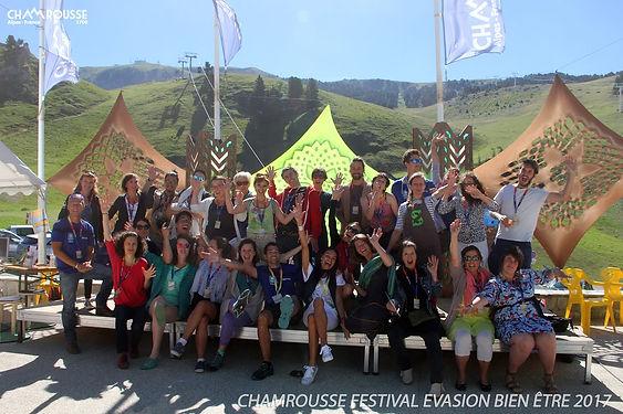 Festival evasion bien-etre Chamrousse 2018 Energetique 38