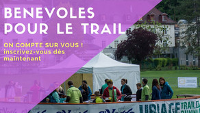 DEVENEZ BENEVOLE POUR L'URIAGE TRAIL RUNNING - 19 mai 2019