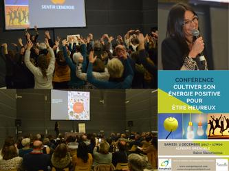 """Conférence """"cultiver son énergie positive pour être heureux"""" - Alpexpo Grenoble"""