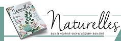 magazine naturelles bien se nourrir et prendre soin de soi