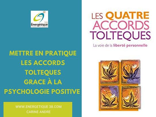 Accords Toltèques Psychologie positive Carine Andr Eneretique 38