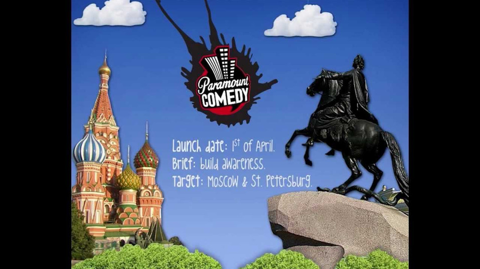 Paramount Comedy. Save April 1st