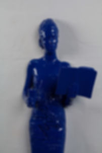 beatrice bissara, entre deux mondes, artiste, art, contemporain, sculpture, resine, plasticienne, artiste, lunch time