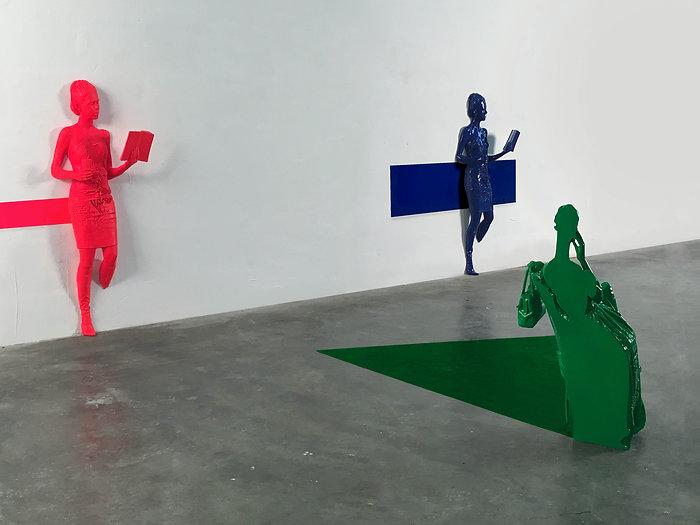 beatrice bissara, entre deux mondes, artiste, art, contemporain, sculpture, resine, plasticienne, artiste