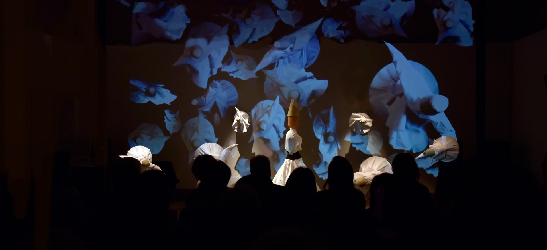 Nuit Blanche 2018-Installation Derviches Tourneurs ou Ecologie de la Conscience ©