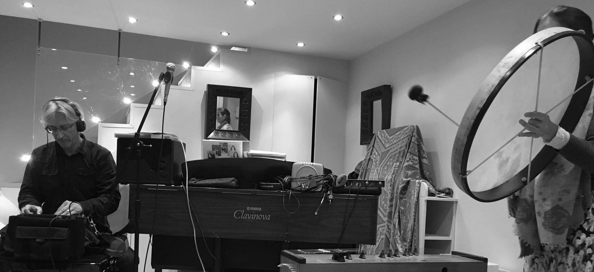 Enregistrement de la musique-Installatio