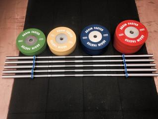 Equipements d'haltérophilie Again Faster Klokov à CrossFit Initium