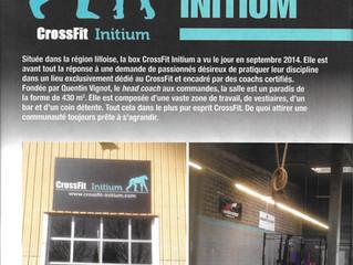 A la découverte de... CrossFit Initium (WorkOut Mag' #3 Juin-Juillet 2015)