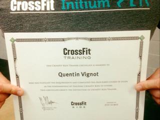 Certification CrossFit Kids à CrosSFit Initium