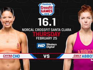 CrossFit Games Open 16.1 à CrossFit Initium