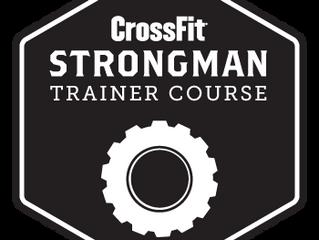 Certification Strongman prochainement à CrossFit Initium