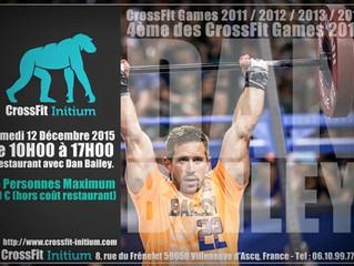 Journée avec Dan Bailey à CrossFit Initium