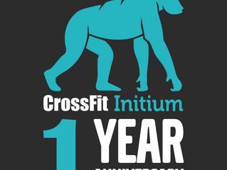 Premier anniversaire CrossFit Initium