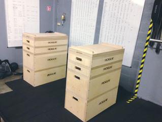 Nouvel équipement à CrossFit Initium