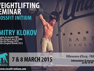 Dmitry Klokov weightlifting seminar
