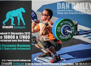 Seconde journée avec Dan Bailey à CrossFit Initium