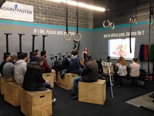 Conférence Alimentation, Nutrition et Santé à CrossFit Initium