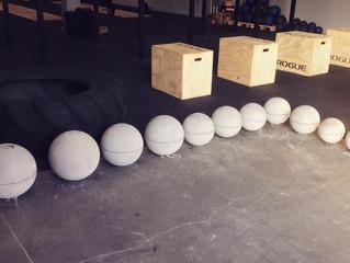 Atlas stones à CrossFit Initium