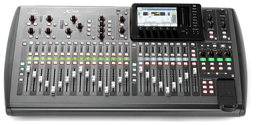 BEHRINGER X 32 LOCATION PARIS 2