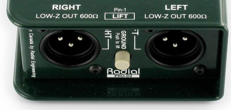 Radial Engineering Pro D2 LOCATION PARIS 6