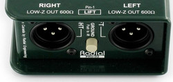 Radial Engineering Pro D2 LOCATION PARIS 6