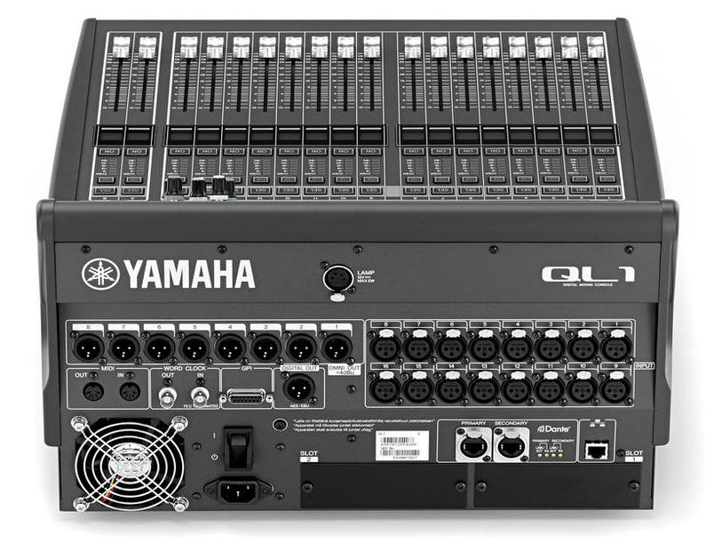 YAMAHA QL1 LOCATION PARIS 1