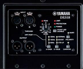 Yamaha - DXS18 3