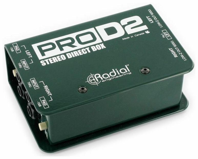 Radial Engineering Pro D2 LOCATION PARIS 3
