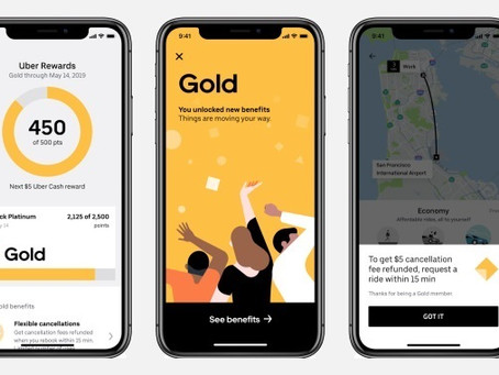 Uber Rolls Out Rewards