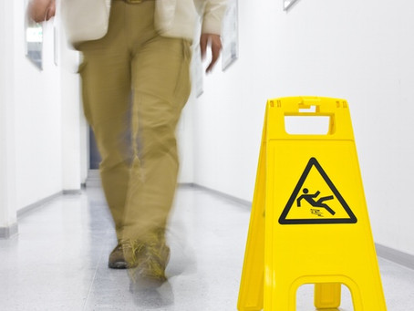 Help prevent slips, trips and falls