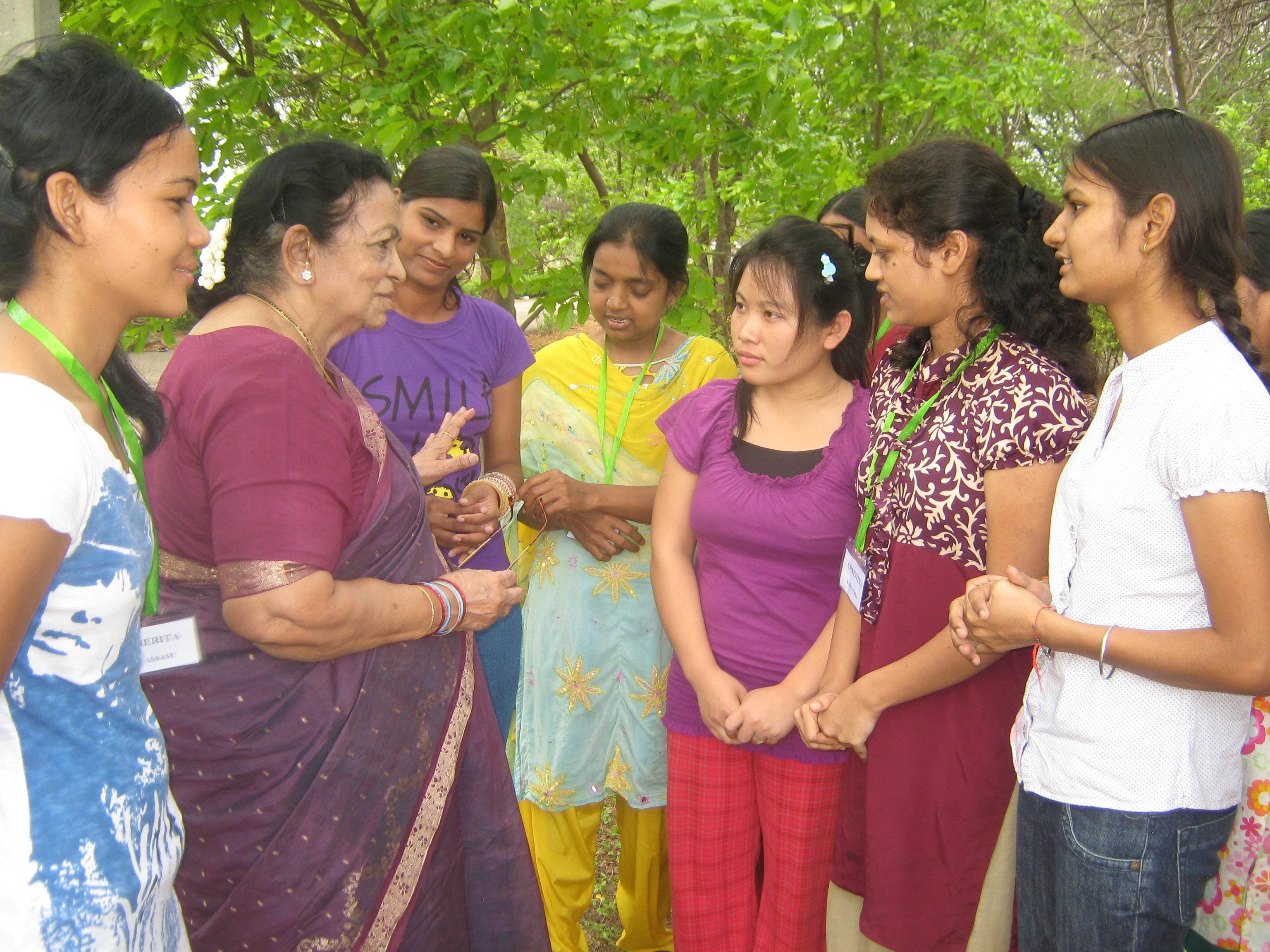 Teaching India Women IWILL