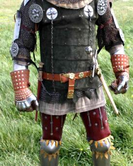 La tenue de guerrier au 14ème siècle