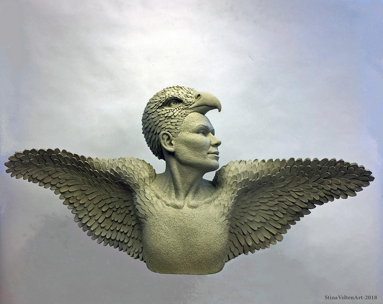 Like a Bird Phoenix she Rose