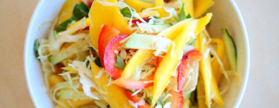 Seasonal Mango Slaw