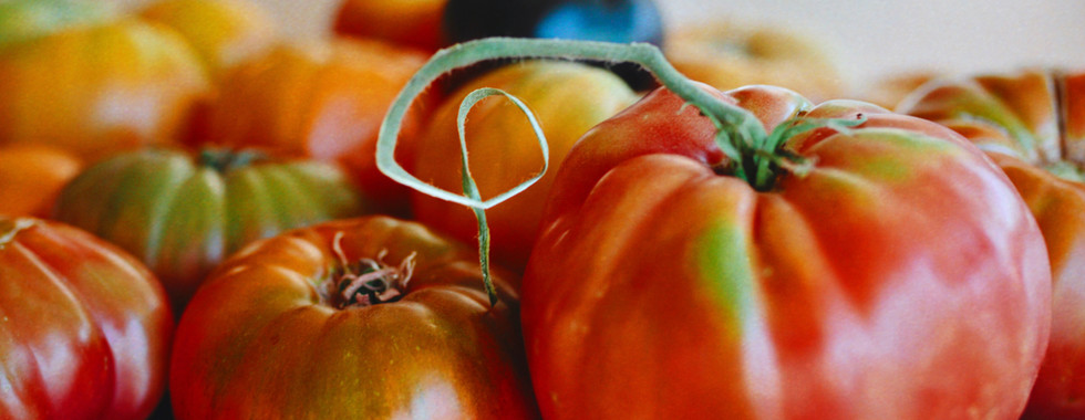 Seasonal Heirloom Tomatoes