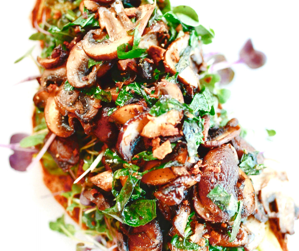 Loaded Mushroom Toast