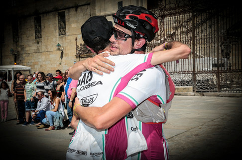 Llega a Santiago - Pilgrim race 2018