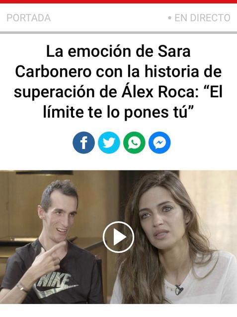 Entrevista Sara Carbonero