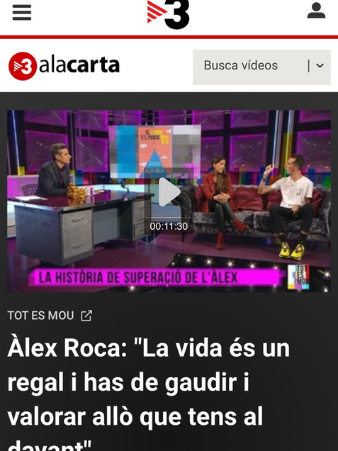 TV3 PRESENTANDO MI LIBRO