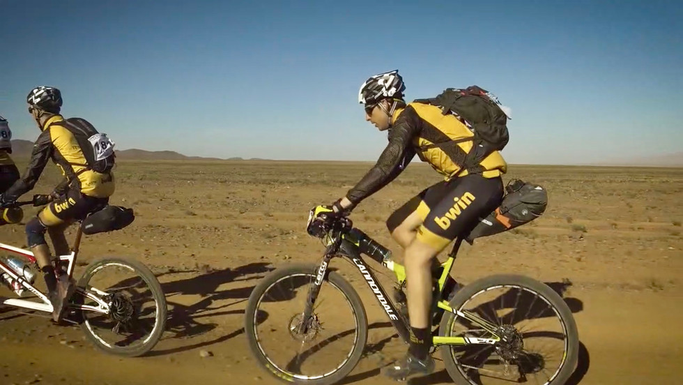Victor Roca en Titan Desert 2018