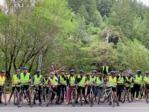 CALIFORNIA'S CHANGING COAST: A BIKE TOUR WITH LIFE ACADEMY, OAKLAND