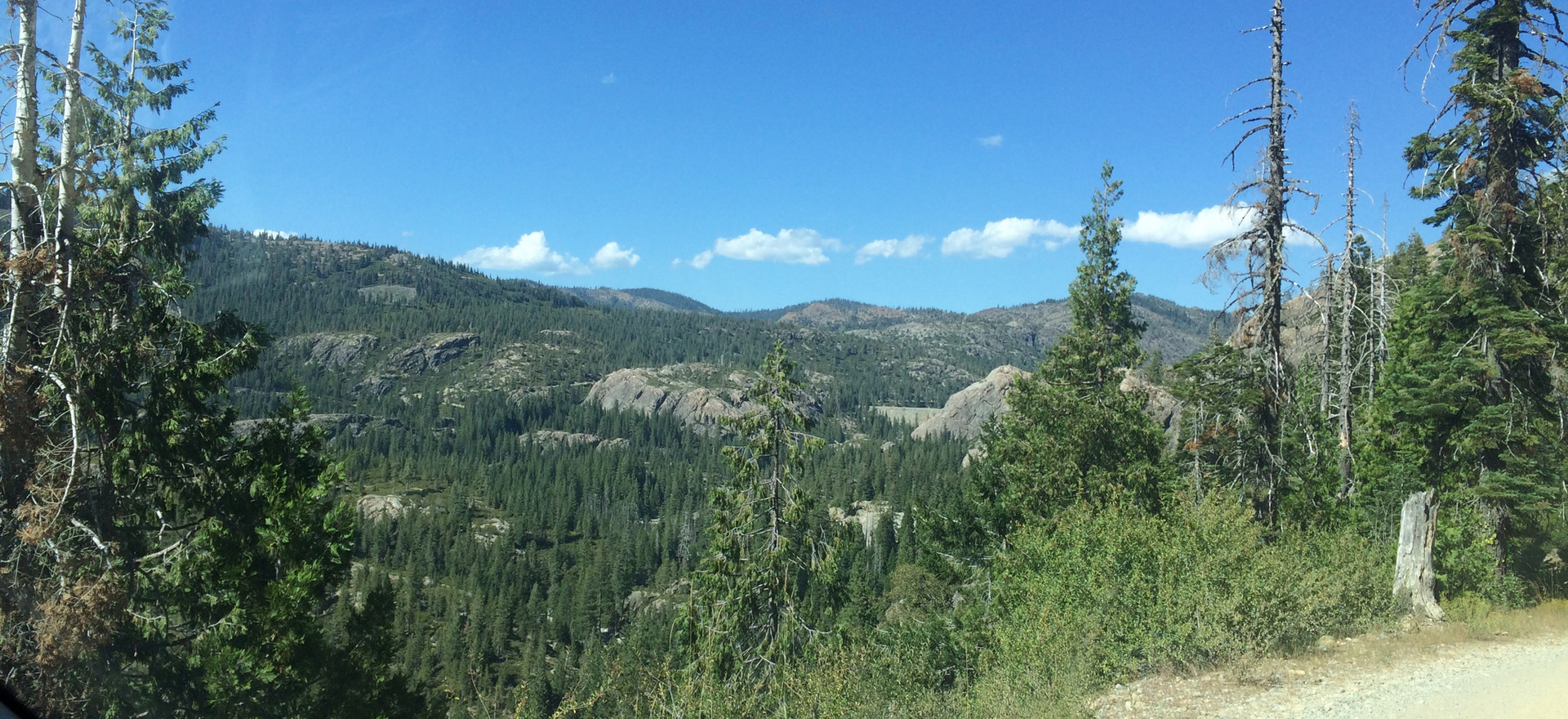 View from Henness Pass Road.