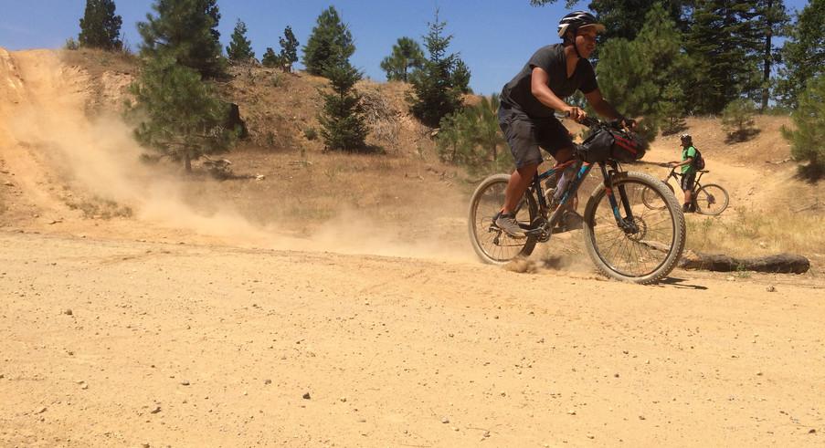 Fun on dirty roads.