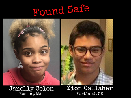 DOUBLE THANKS! The last 2 children we brought you on #InsideCrimeMissing have been found safe.