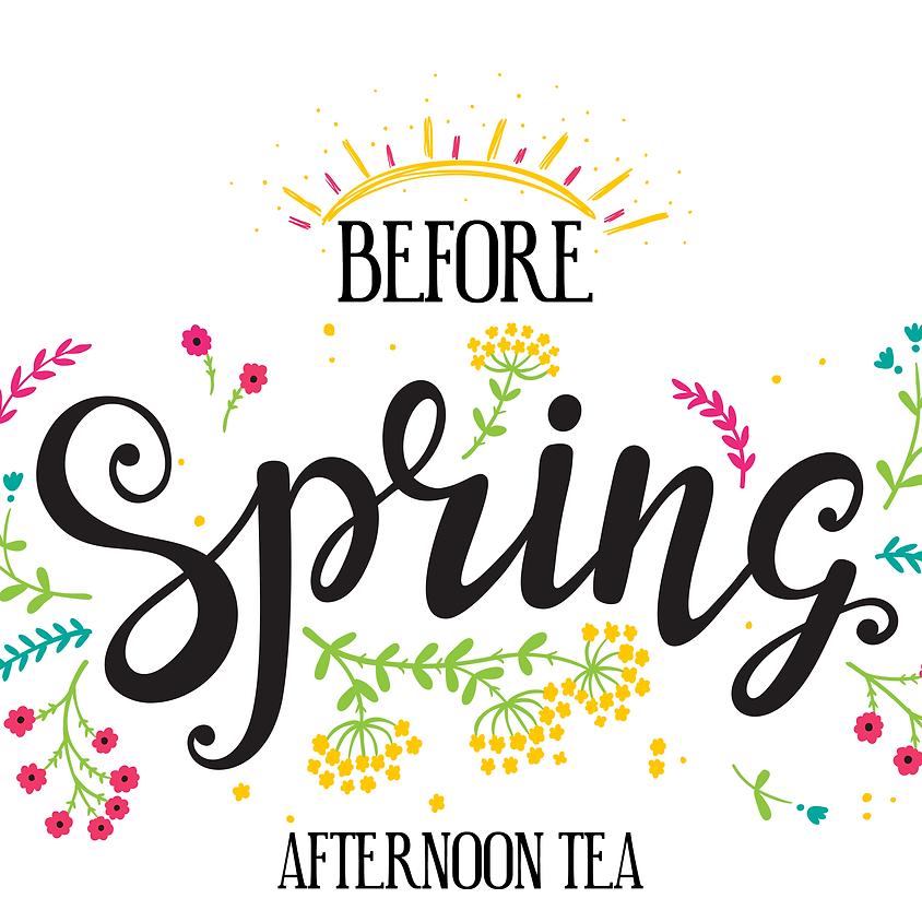 Before Spring Afternoon Tea