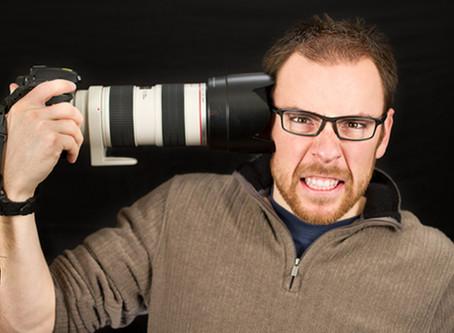 Wedding Survival ProTip #15 - NO Stressed Photographers!