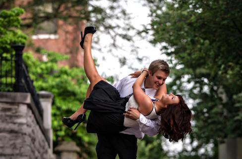 Cincinnati best wedding photographer Tammy Bryan engagement portfolio picture - 7