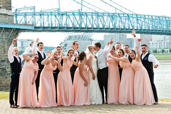 Cincinnati best most affordable wedding photographer Tammy Bryan highlight picture from Catherine & Josh wedding - 17