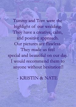 Kristin & Nate by Cincinnati best weddin