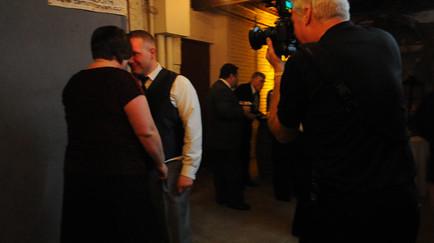 Cincinnati wedding photographer Tammy Bryan behind-the-scenes video of the live photo booth